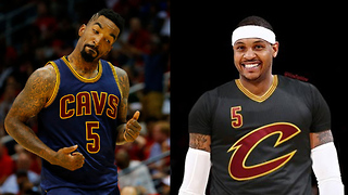 Carmelo Anthony & JR Smith are Teammates Again! - Video