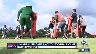 Hurricanes football comes to Palm Beach County 6/5