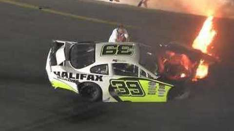 Father Jumps on Track to Pull Son From Burning Casciencemagaziner After Race Crash