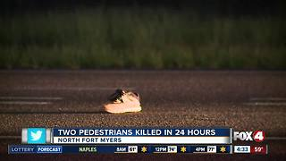 Pedestrian hit and killed in North Fort Myers Wednesday night - Video