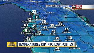 Freezing temperatures hit the Bay Area - Video