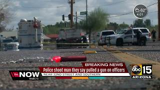 Police involved in shooting in south Phoenix - Video