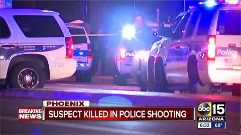 Suspect killed in police shooting