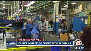 Carrier workers can receive financial assistance to aid in job search - Video