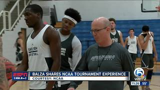 David Balza shares tournament experience - Video
