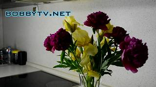Try out this helpful flower arrangement trick  - Video