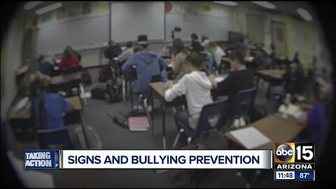 Signs of bullying and prevention