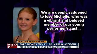 Fort Thomas teen killed in freak accident - Video