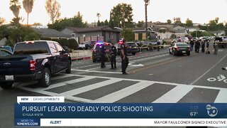 Pursuit leads to deadly police shooting