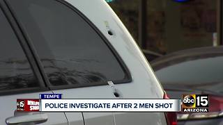 PD: 2 hospitalized, 1 in custody after Tempe shooting - Video
