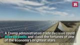 Trump Tariff fears cast shadow over U.S. solar industry | Rare News - Video