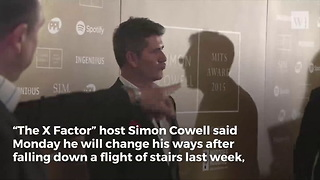 Simon Cowell Vows To Change Lifestyle For Son After Being Rushed To Hospital