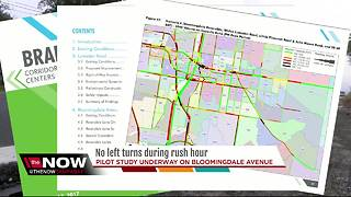 Left turns could be removed during busy traffic hours on Bloomingdale Avenue - Video