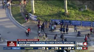 State leaders respond to Parkland high school shooting - Video