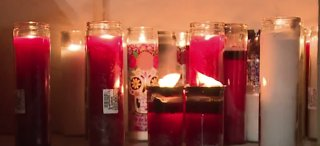 Candlelight vigil for dead teen