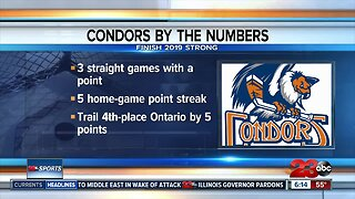 Condors finish 2019 with points