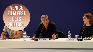 George Clooney talks racism and Charlottesville - Video