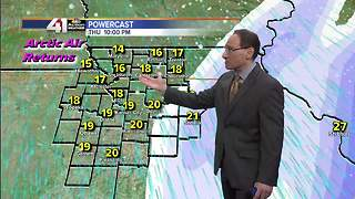 Jeff Penner Tuesday Evening Forecast Update 1 9 18 - Video