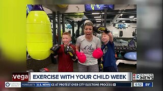 Exercise with your child week