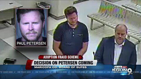 Maricopa County Board of Supervisors will decide whether to remove Peterson from office