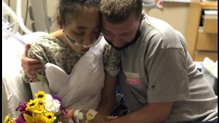 Las Vegas woman with leukemia has dying wish fulfilled at Southern Hills Hospital