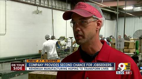 Nehemiah Manufacturing: West End company gives felons second chance