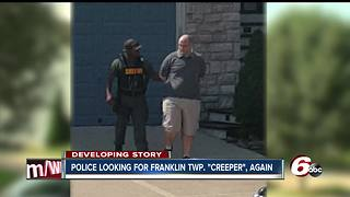 Police searching for Franklin Township creeper - Video