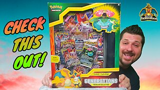 Tag Team Generations Premium Collection | Pokemon Cards Opening
