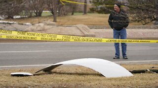 Jet Engine Failure Drops Plane Parts in Denver-Area Front Yards
