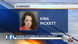 Naples woman accused of Child Neglect - Video