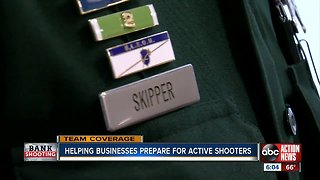 Helping businesses prepared for active shooters