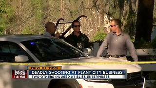 Owner of Plant City business shot and killed following ongoing dispute, 2 others injured - Video