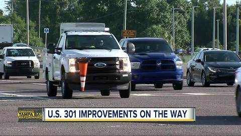 Improvements coming to dangerous part of US 301