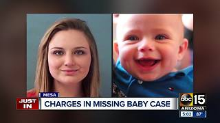 Charges submitted against parents of missing Mesa mom, baby - Video