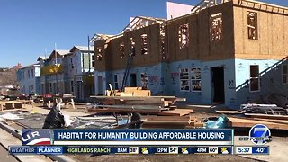 Habitat for Humanity building affordable housing