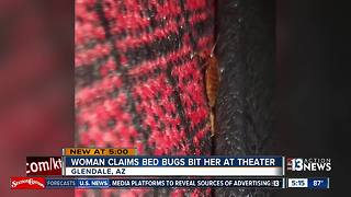 Woman says Arizona movie theater has bed bugs - Video