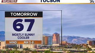 Chief Meteorologist Erin Christiansen's KGUN 9 Forecast Monday, November 21, 2016 - Video