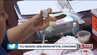 Flu season: debunking myths, concerns