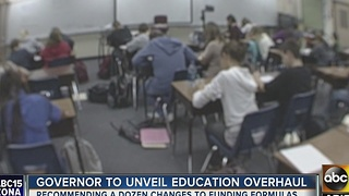 Gov. Ducey to unveil proposed education overhaul - Video