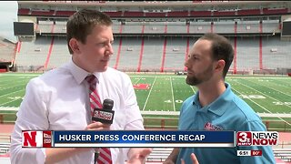 Sports debrief: Husker press conference recap