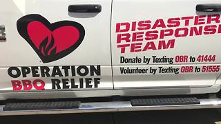 Local non-profit Operation BBQ heads to Houston to aid in disaster relief - Video