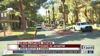 2 bodies found in apartment - Video