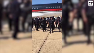 Here's How Trump REALLY Treats Cops - Video