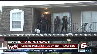 Person shot, killed at Indianapolis northeast-side apartment complex - Video