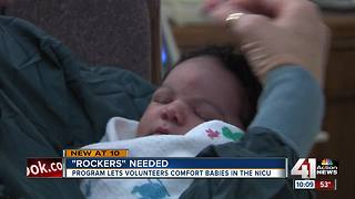 TMC looking for senior volunteers to rock babies - Video