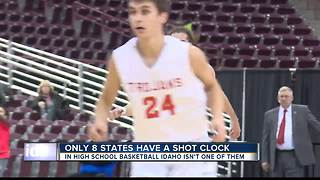 Shot Clock is a big topic high school basketball