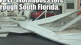 South Florida tornadoes — January 2017 - Video