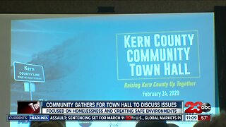 Kern County community gathers for town hall to discuss issues