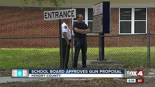 Hendry County moves forward with armed teachers