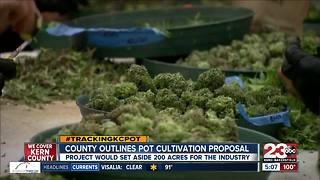 Kern County releases cannabis cultivation proposal - Video